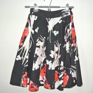 Floral midi skirt by Abercrombie & Fitch